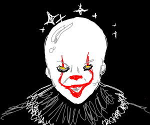 Pennywise without hair