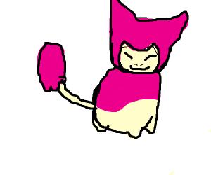 Loose sketch of Skitty (pokemon)