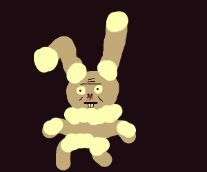 rabbit pokemon did a little too much crack