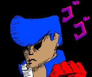 Josuke punches u