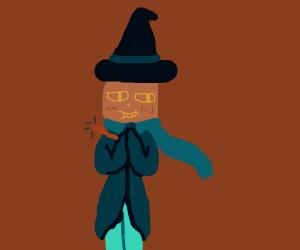 Cheeky wizard