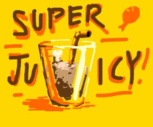 Super juicy chicken drumsticks!