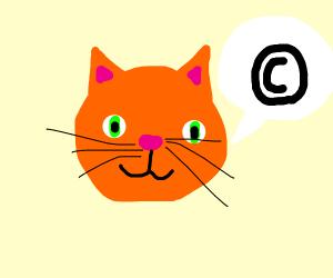 Copyright kitty