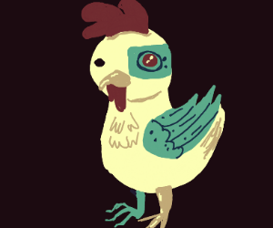 Cyborg chicken