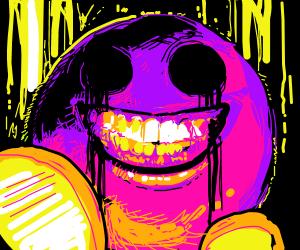 Cursed Kirby Drawception