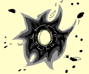 Wheel of black fire
