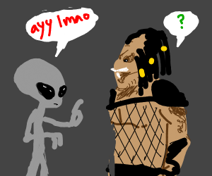 cultural language barrier w/ aliens