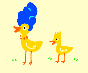 Marge the duck