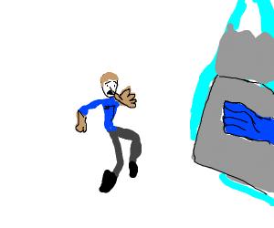 Arm fall off boy (marvel)