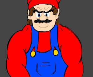 Swole Mario