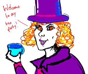 Mad Hatter, but a female pyromaniac