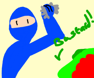 blue ninja is a bastard