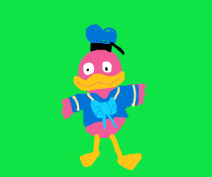 donald ducks pink nephew