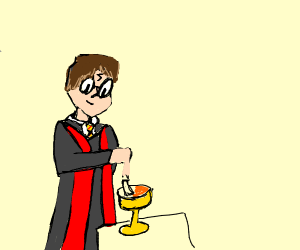 HARRY! DID YOU PUT YOUR NAME IN THE GOBLET?!!