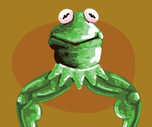 Cthulhu has Kermit head