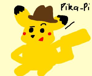 Sassy detective pikachu