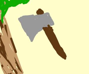 a axe