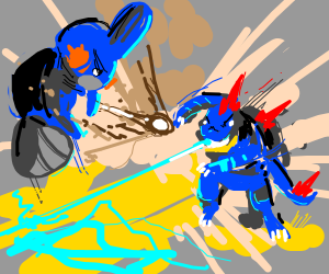 Mudkip VS Feraligator