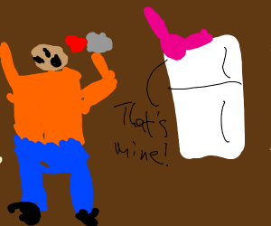 guy accidentally drinks fairy juice