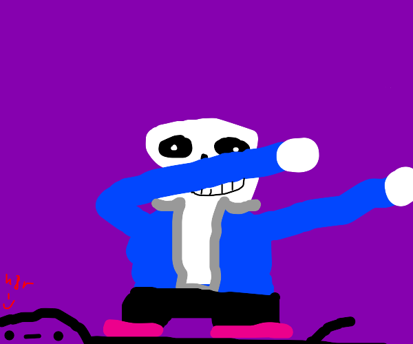 Sans dabs on the haters