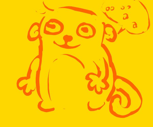 orange monkey