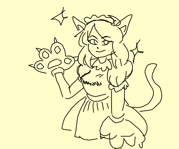 Catgirl maid