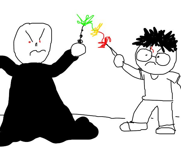 Voldemort vs Harry