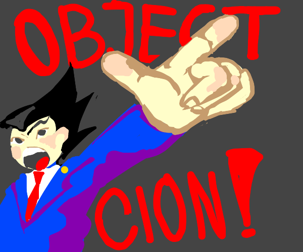 Phoenix wright OBJECTION!
