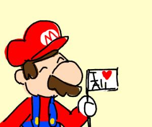 Mario loves us all