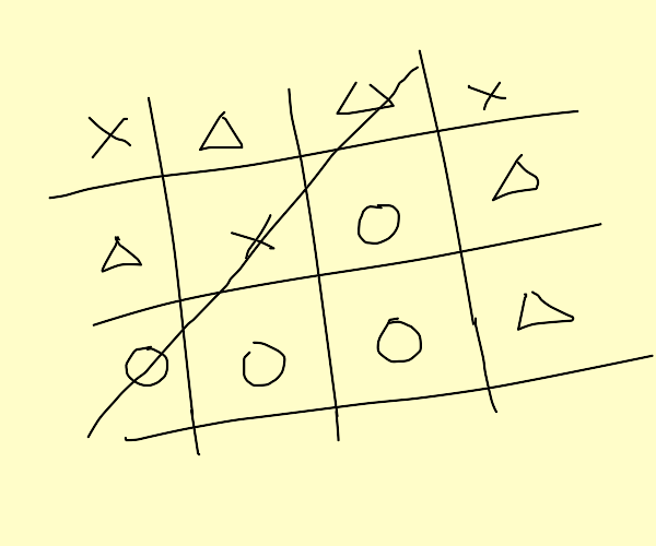 Tic tac toe but very confusing