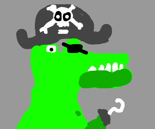 crocodile pirate