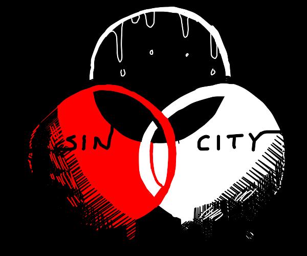 DIY Sin City palette