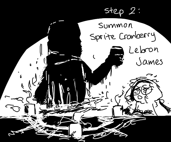 Step 1: Drink Sprite Cranberry