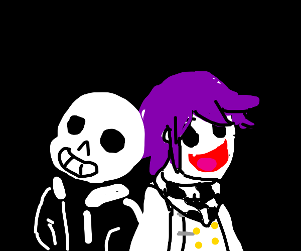 Sans and Kokichi