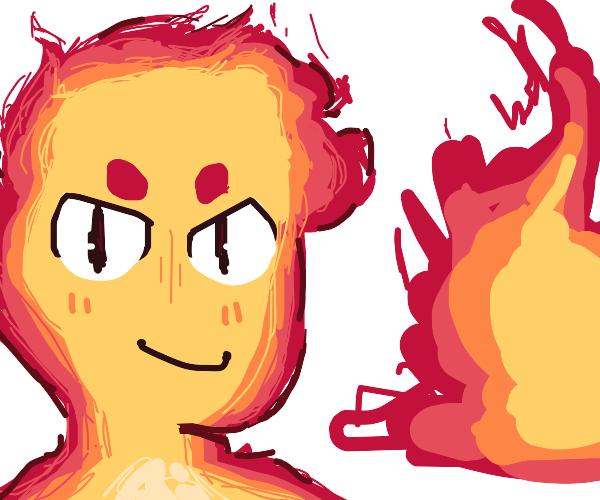 fire boy likes demolition