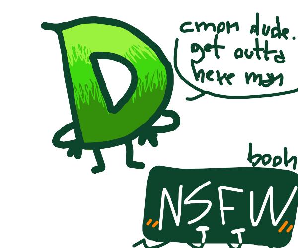 Drawception needlessly shoos away NSFW