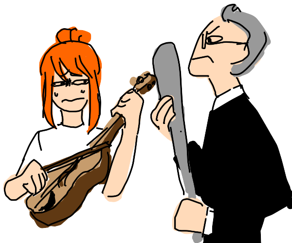 use the violin OR DIE.