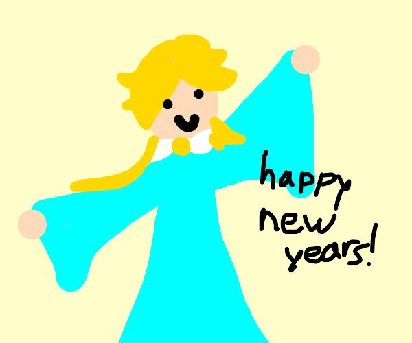 Rosalina wishes u a happy new year