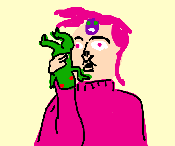 Doppio's phone is ringing