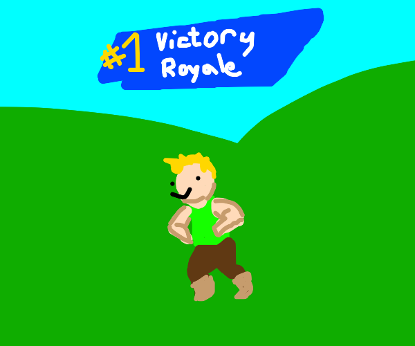 #1 Victory Royal in Fortnite
