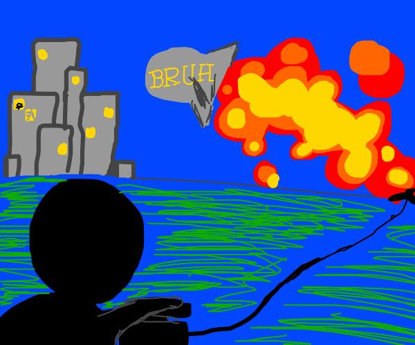Launching bruh nukes