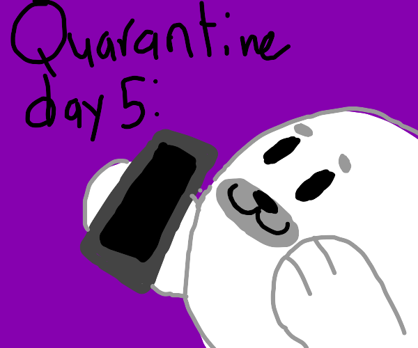 Panel 5= what happens on day 15 of Quarantine