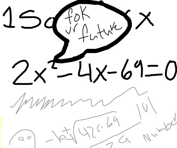 Rude Algebra :'(