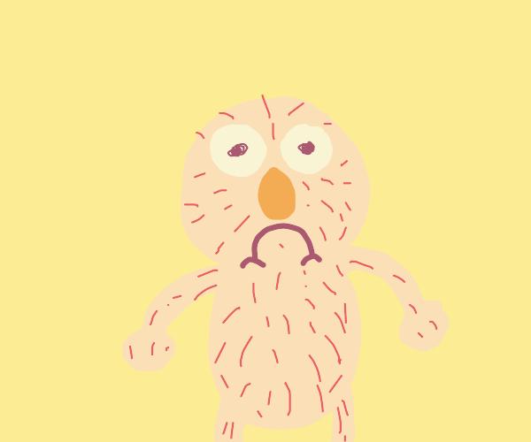 Cursed Image Showcase: Naked elmo