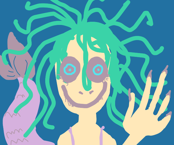 A+ Creepy Mermaid