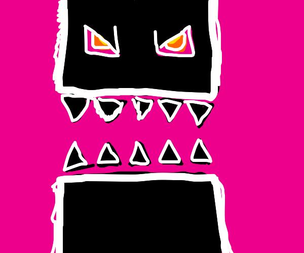 Pink Clubstep monster