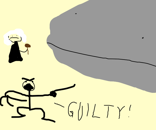 prosecuter prosecutes a whale