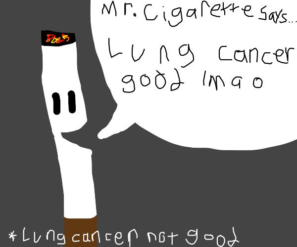 Mr. Cigarette