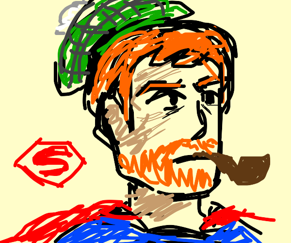 Superman, but he's Scottish