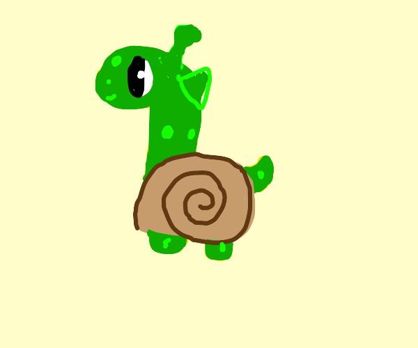 Giraffe+turtle+snail